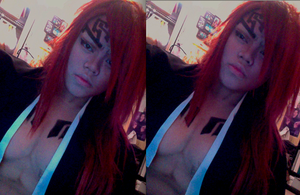 Playing with makeup = Renji by AkuseruReno