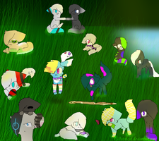 Group Pic ^^ by Lillytehcat