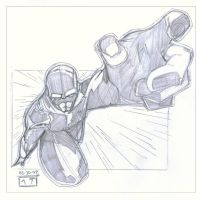 Prize Sketch - therealsurge by MichaelCrichlow