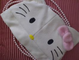 Hello Kitty hat by Keykee88