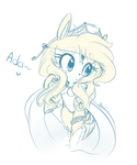 .: New Character: Ada the Curl-Tailed Squirrel :. by Shaymikuu