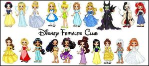 Disney Females by elizabeth-diggory