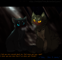 SPOILERS -'so you care?'- by NonsensicalLogic