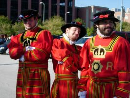 Goofy Beefeaters by Aidelon