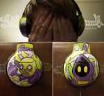 Grim Reapers Headphones by Bobsmade
