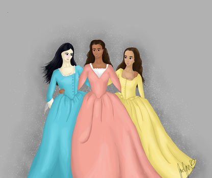 The Schuyler Sisters by JaedynOfPyrrhia