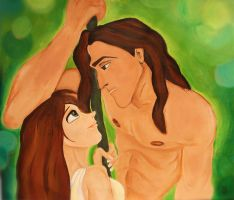 Tarzan and Jane by AnnieIsabel