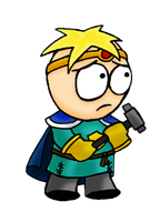 Butters The Paladin by Liliththeottsel