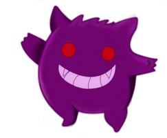 gengar by SnowberryInc
