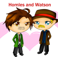 .:PC:. Homles and Watson by Blue-Shine-Star