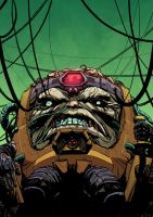 MODOK: Lines- Tristan Jones, Colors -Doug Garbark by DougGarbark