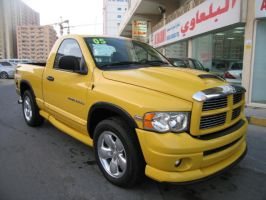 Dodge RAM 1500 2005 Yellow by sniperbytes