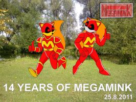 14 Years of Megamink by Sricketts14381