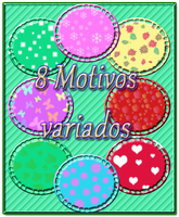 8 Motivos variados by little-think