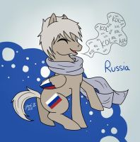 My Little Hetalia: Russia by Cisol