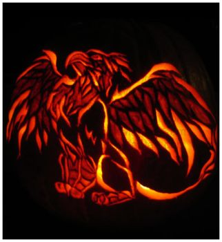Happy Halloween - Gryphon 2 by pandami