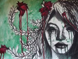 Blossoming Headache by CrowDevine