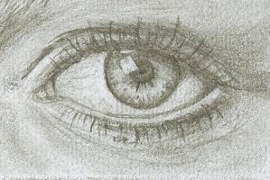 Anxious - Eye study by GishyAngelBear
