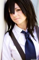 Melfina Close Up Outlaw Star Cosplay by LeapingLizardCosplay
