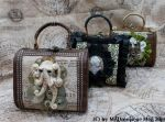 Wooden Steampunk Octopus Bags by MADmoiselleMeli