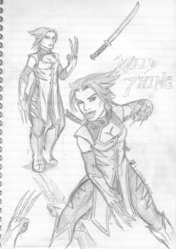 Wild Thing Sketches by korblborp
