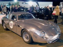POLISHED Aston DB4 GT Zagato by Partywave