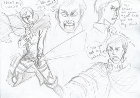 SnK:Erwin Smith by REMAINfaithful