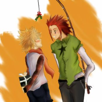AkuRoku: Christmas Wish by theholysmirk