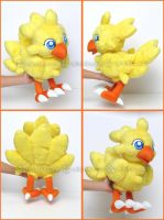 Chocobo:::Final Fantasy:::: by Witchiko