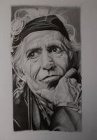 KEITH RICHARDS by ARTIEFISHEL79