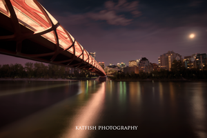 Bow River night 2 by Ironwi11