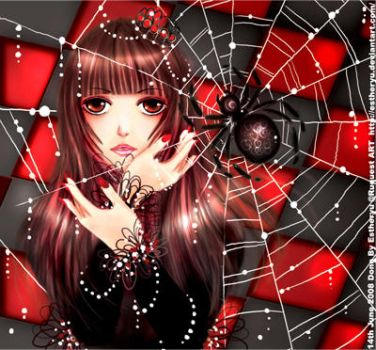 The Spider girl by Estheryu
