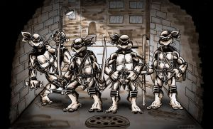 Eastman and Laird's Teenage Mutant Ninja Turtles by BenSmith128