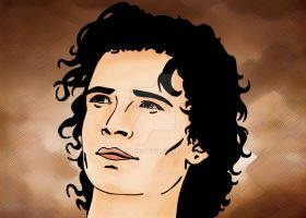Orlando Bloom colored by IvanaKC
