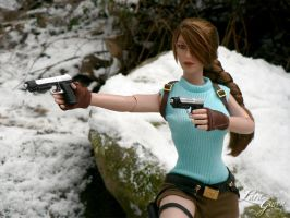 Classic Beauty : Official Lara Croft Tonner doll 2 by Laragwen