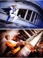 Hetalia: America and France by Amapolchen