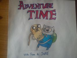 Adventure Time by OliviaWhyteART