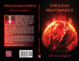 Endless Nightmares, finalised book cover by LevelInfinitum