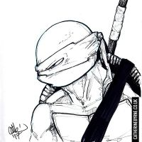 Donatello from the sketchbook by CatByrne
