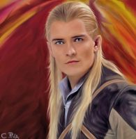 LEGOLAS, MY HIPEREAL PAINT by pivarts