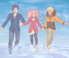 Team 7: Winter by kiwifairy