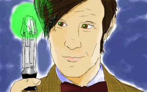 Matt Smith - Smudge Tool by IBelongToTheDoctor