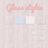 glass styles :} by ValenMp