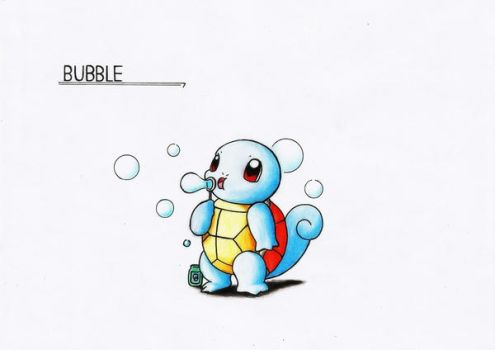 BUBBLE - Squirtle by GTS257-CT