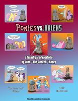 Ponies vs. Daleks Cover by the-gneech