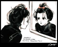 Edward in Mirror by amoykid