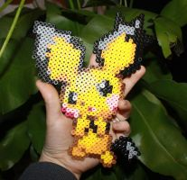 Pichu Bead sprite by CindTheSarkany