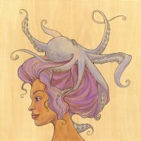 The Octopus Mermaid Series, 4 by khallion