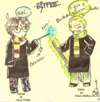 FFVIII as Harry Potter by yurchan
