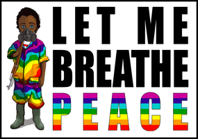 Let me breathe peace by MattVTwelve